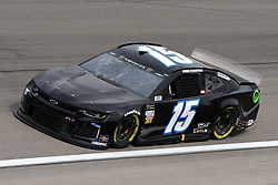 March 1, 2019 - Las Vegas, NV, U.S. - LAS VEGAS, NV - MARCH 01: Ross Chastain (15) Premium Motorsports Chevrolet Camaro ZL1 drives through turn four during practice for the Monster Energy NASCAR Cup Series 22nd Annual Pennzoil 400 on March 1, 2019, at the Las Vegas Motor Speedway in Las Vegas, Nevada. (Photo by Michael Allio/Icon Sportswire) (Credit Image: © Michael Allio/Icon SMI via ZUMA Press)