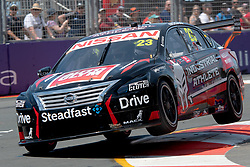 October 19, 2018 - Gold Coast, QLD, U.S. - GOLD COAST, QLD - OCTOBER 19: Michael Caruso in the Drive Racing Nissan Ultima during Friday practice at The 2018 Vodafone Supercar Gold Coast 600 in Queensland on October 19, 2018. (Photo by Speed Media/Icon Sportswire) (Credit Image: © Speed Media/Icon SMI via ZUMA Press)