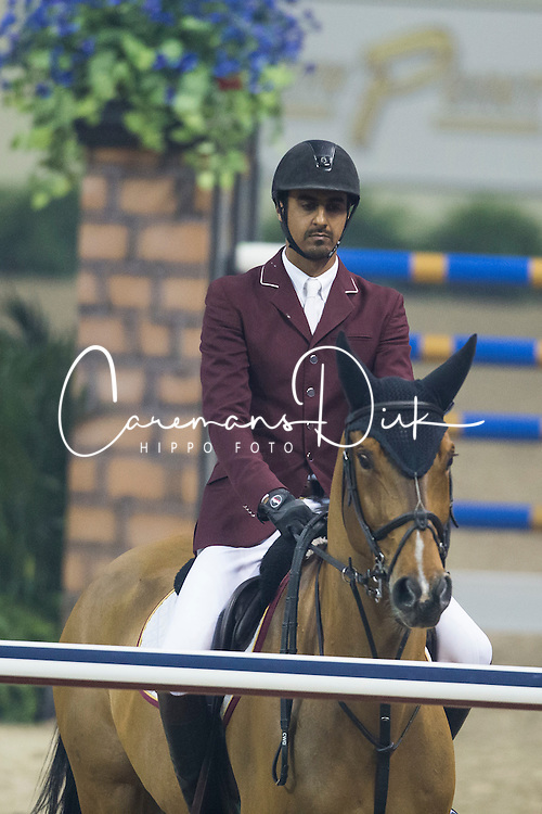 Sheikh Ali Al Thani Bin Khalid, (QAT), First Devision<br /> Longines FEI World Cup™ Jumping Final II<br /> Las Vegas 2015<br />  © Hippo Foto - Dirk Caremans<br /> 18/04/15