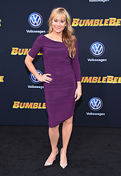 December 9, 2018 - Hollywood, California, U.S. - Megyn Price arrives for the premiere of the film 'Bumblebee' at the Chinese theater. (Credit Image: © Lisa O'Connor/ZUMA Wire)