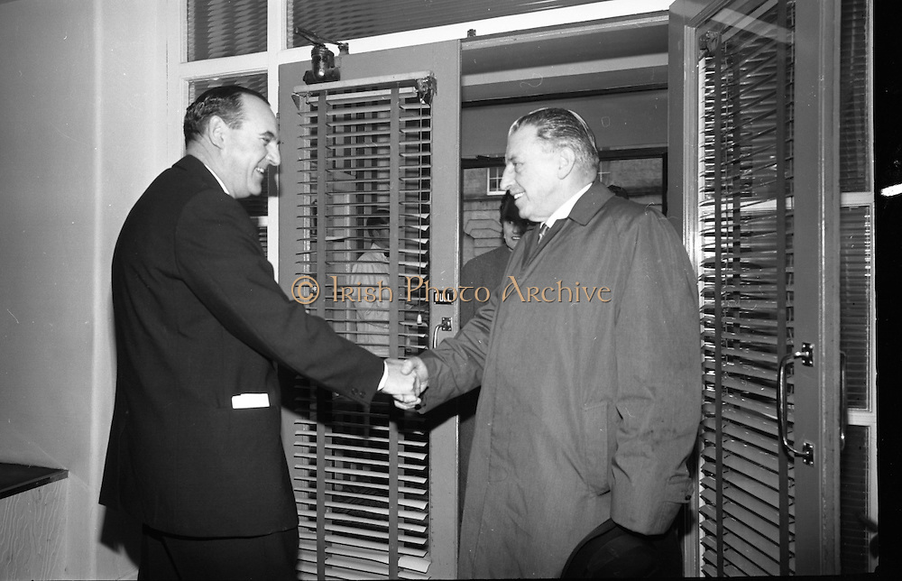 Official opening of Northgate Exploration Ltd's Tynagh Mines, Co. Galway, by An Taoiseach Seán Lemass..22.10.1965
