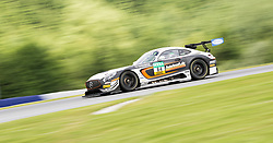 10.06.2017, Red Bull Ring, Spielberg, AUT, ADAC GT Masters, Spielberg, 1. Rennen, im Bild Patrick Assenhelmer (GER)/Maximilian Goetz (GER) Mercedes AMG Team HTP Motorsport // German ADAC GT MAsters driver Patrick Assenheimer/German ADAC GT masters driver Maximilian Goetz of Mercedes AMG Team HTP Motorsport during the 1st race of the ADAC GT Masters at the Red Bull Ring in Spielberg, Austria on 2017/06/10. EXPA Pictures © 2017, PhotoCredit: EXPA/ Dominik Angerer