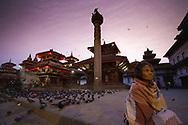 5.30am in Khatmandu Durbar Square, Nepal.
