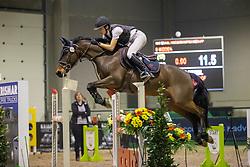 Braspenning Merel, BEL, Parco Van't Hollandhof<br /> Nationaal Indoorkampioenschap  <br /> Oud-Heverlee 2020<br /> © Hippo Foto - Dirk Caremans