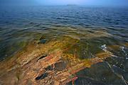 Rocky shoreline of Lake Superior<br />Rossport<br />Ontario<br />Canada