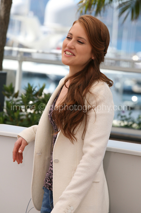 Actress Veronique Wuthrich at the My Sweet Pepper Land film photocall Cannes Film Festival on Wednesday 22nd May 2013