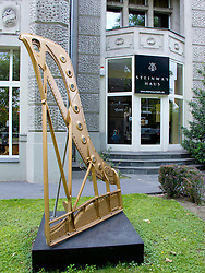 Exterior of Steinway Haus piano shop in Berlin Germany