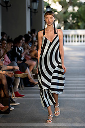 August 27, 2017 - Sao Paulo, Sao Paulo, Brazil - Iodice fashion show, featuring the Summer 2018 collection during the N44 edition of the Sao Paulo Fashion Week (SPFW), in Sao Paulo, Brazil. (Credit Image: © Paulo Lopes via ZUMA Wire)