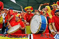 Photo: Glyn Thomas.<br />Spain v France. Round 2, FIFA World Cup 2006. 27/06/2006.<br /> Spanish fans enjoy the World Cup atmosphere.