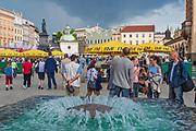 Rynek Główny w Krakowie, Polska<br /> Main Market Square, Poland