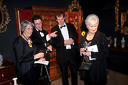 ANGELA BARKER; JONATHAN COULBORN; ALASTAIR CAMPBELL;  LYNDA LOGAN. Bada Antiques Fine art Fair charity Gala. In aid of Leukaemia and Lymphoma Research. 18 March 2010.