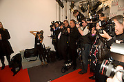 PHOTOGRAPHERS, The Elle Style Awards 2009, The Big Sky Studios, Caledonian Road. London. February 9 2009.  *** Local Caption *** -DO NOT ARCHIVE -Copyright Photograph by Dafydd Jones. 248 Clapham Rd. London SW9 0PZ. Tel 0207 820 0771. www.dafjones.com<br /> PHOTOGRAPHERS, The Elle Style Awards 2009, The Big Sky Studios, Caledonian Road. London. February 9 2009.