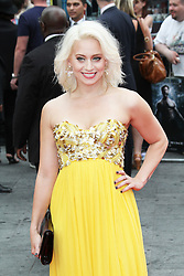 © Licensed to London News Pictures. Kimberly Wyatt  at The Wolverine UK film premiere, Leicester Square, London UK, 16 July 2013. Photo by Richard Goldschmidt/LNP