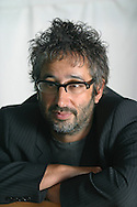 British television comedian David Baddiel, pictured at the Edinburgh International Book Festival, where he talked about his new novel which deals with the serious subject of race, immigration and love. The book festival was a part of the Edinburgh International Festival, the largest annual arts festival in the world.