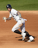 CHICAGO - MAY 23:  Brett Lawrie #15 of the Chicago White Sox runs the bases against the Cleveland Indians during game one of a double header on May 23, 2016 at U.S. Cellular Field in Chicago, Illinois.  The White Sox defeated the Indians 7-6.  (Photo by Ron Vesely)   Subject:   Brett Lawrie