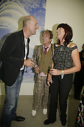 Richard Strange, Nicky Haslam and Janet Street-Porter, Johnnie Shand Kydd:  book launch party celebrate the publication of Crash.White Cube. Hoxton sq. London. 18 September 2006. ONE TIME USE ONLY - DO NOT ARCHIVE  © Copyright Photograph by Dafydd Jones 66 Stockwell Park Rd. London SW9 0DA Tel 020 7733 0108 www.dafjones.com