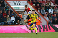 Football - 2021 / 2022 EFL Sky Bet Championship -AFC Bournemouth vs. West Bromwich Albion - The Vitality Stadium<br /> <br /> Bournemouth's David Brooks and Dara O'Shea of West Bromwich Albion in action during the Championship match at the Vitality Stadium (Dean Court) Bournemouth   <br /> <br /> COLORSPORT/Shaun Boggust
