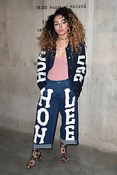 Ella Eyre attending the House of Holland Autumn/Winter 2017 London Fashion Week show at the Tate Modern, London. Photo credit should read: Doug Peters/ EMPICS Entertainment