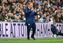 Cardiff City manager Neil Warnock  - Mandatory by-line: Alex James/JMP - 06/10/2018 - FOOTBALL - Wembley Stadium - London, England - Tottenham Hotspur v Cardiff City - Premier League