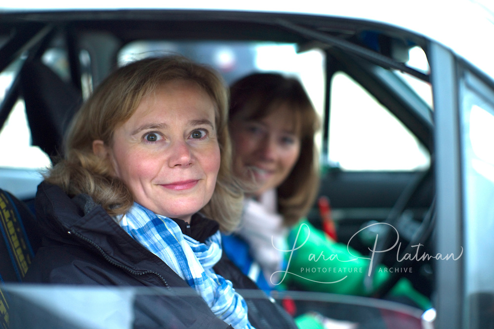 The 14th Rallye Monte Carlo Historique. Celebrating 100 years of the Rally. 1911-2011. Cars start from either Glasgow,Marakesh, Warsaw, Reims, Barcelona or Paris. Steffi Edelhoff and Birgit Binder