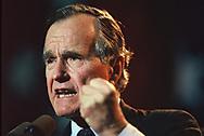 President H.W Bush's last rain stop at Steven's Point Wisconsin.<br /> Photo by Dennis Brack