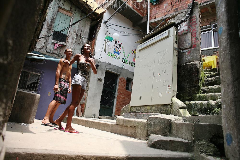 Santa Marta favela, Rio de Janeiro.