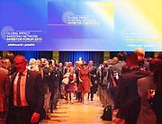 Koningin Maxima woont in de Beurs van Berlage een forum bij van het Global Impact Investing Network (GIIN). Zij doet dit in haar hoedanigheid als speciaal pleitbezorger van de secretaris-generaal van de Verenigde Naties voor inclusieve financiering voor ontwikkeling (UNSGSA).<br /> <br /> Queen Maxima attends a forum of the Global Impact Investing Network (GIIN) in the Beurs van Berlage. She does this in her capacity as special advocate of the Secretary-General of the United Nations for Inclusive Financing for Development (UNSGSA).