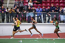Bruce LeHane Invitational Mile<br /> Yomif Kejelcha, Nike Oregon Project, attempts to set world record indoor mileBruce LeHane Invitational Mile<br /> Yomif Kejelcha, Ethiopia, Nike Oregon Project, breaks world record indoor mile 3:47.01