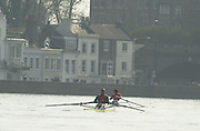 Peter Spurrier Sports  Photo.email pictures@rowingpics.com.Tel 44 (0) 7973 819 551..Photo Peter Spurrier.29/03/2002.2002 Thames World Sculling Challenge Rowing Course: River Thames, Championship course, Putney to Mortlake 4.25 Miles [Mandatory Credit Peter Spurrier; Intersport Images]