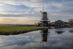 Molen De Morgenster, Aarlanderveen, Zuid Holland, Netherlands