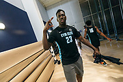 THOUSAND OAKS, CA Sunday, August 12, 2018 - Nike Basketball Academy. Kofi Cockburn 2019 #23 of Oak Hill Academy poses for the camera. <br /> NOTE TO USER: Mandatory Copyright Notice: Photo by Jon Lopez / Nike
