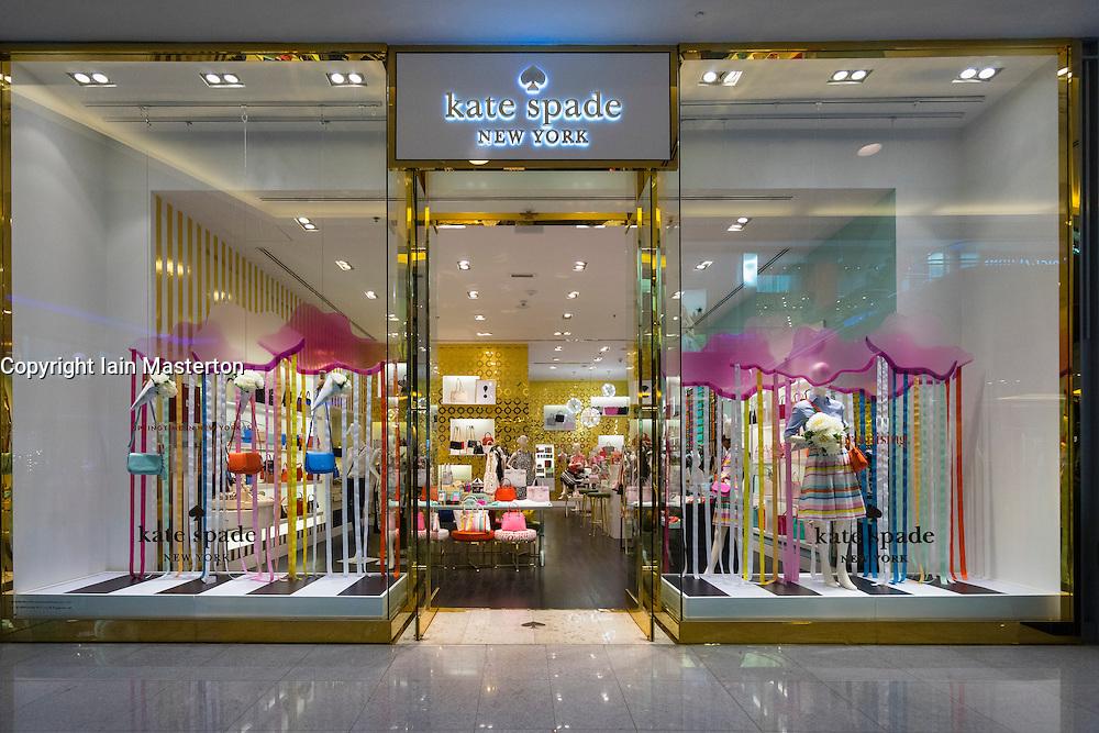 Kate Spade fashion  shop in Dubai Mall Dubai United Arab Emirates