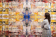 Sotheby's £250m Impressionist & Modern Art and Contemporary Art Summer Sales.  Highlights include: Monet's Water Lilies est £20-30m; a Mondrian, est £13-18m; a Peter Doig, est £9m; a Frances Bacon triptych of his lover George Dyer, est £15-20m; and works by Matisse, Picasso, Basquiat, Warhol and Richter  ( here his tapestry Abdu pictured). Sotheby's, New Bond Street, London.