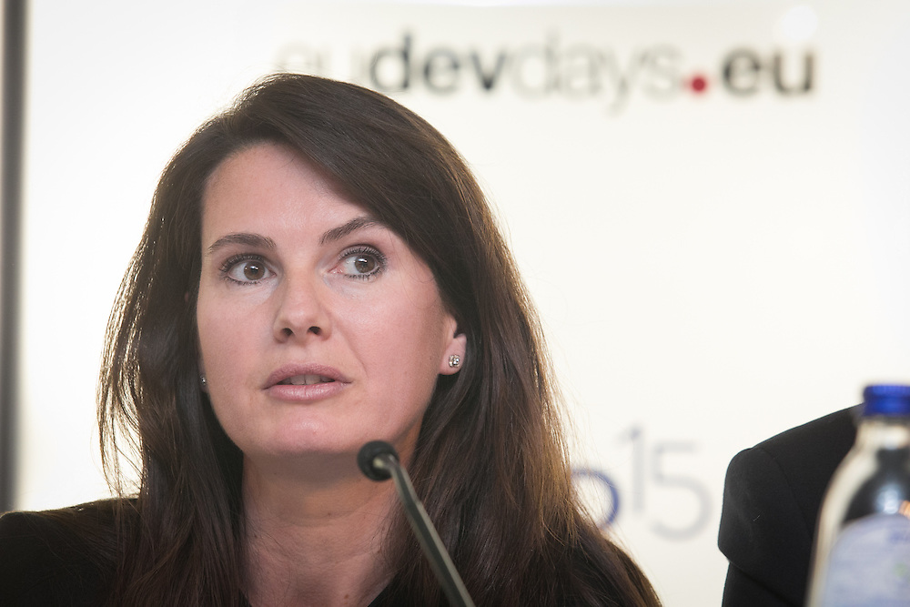03 June 2015 - Belgium - Brussels - European Development Days - EDD - Migration - Migrants matter for development - New actors and energies in a new development agenda - Cecile Riallant<br /> Programme Manager, Joint Migration and Development Initiative © European Union