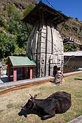 Gurudwara Sahib Manikaran with thermal springs is a pilgrimage centre for Sikhs in the Parvati Valley,  Himachal Pradesh, India
