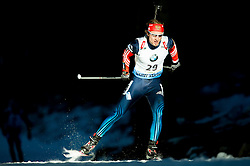 LAPSHIN Timofey (RUS) competes during Men 15 km Mass Start at day 4 of IBU Biathlon World Cup 2014/2015 Pokljuka, on December 21, 2014 in Rudno polje, Pokljuka, Slovenia. Photo by Vid Ponikvar / Sportida