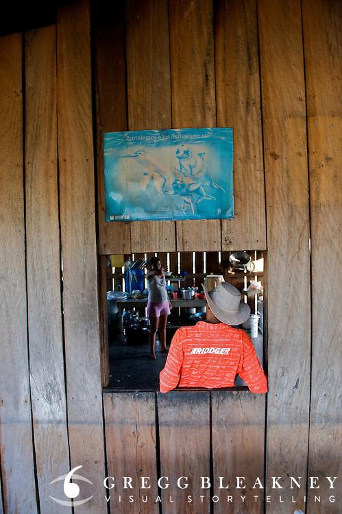 Caretaker at Ventanas - Orinoco River Basin - Colombia - South America