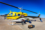 Bell 205 A-1, owned and operated by Helicopter Express, Atlanta.<br />