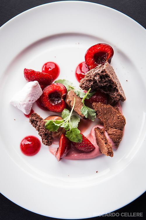 Food photography. Stratus Vineyard, Niagara - Chef David Hawksworth. 2013.