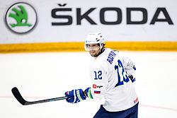 David Rodman of Slovenia during ice hockey match between Hunngary and Kazakhstan at IIHF World Championship DIV. I Group A Kazakhstan 2019, on May 3, 2019 in Barys Arena, Nur-Sultan, Kazakhstan. Photo by Matic Klansek Velej / Sportida