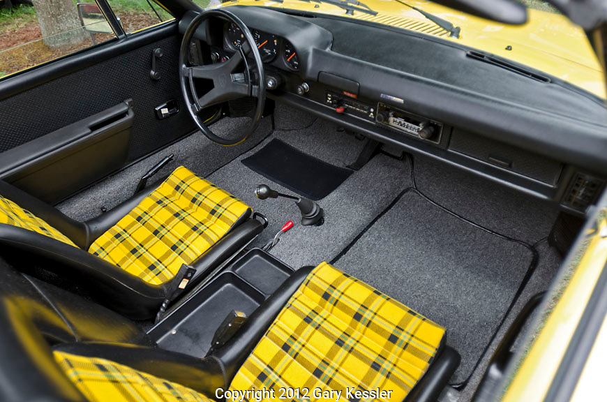 Porsche 914 Interior,Keeneland Concours D'Elegance,Lexington,Ky.