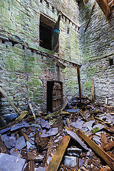 Remains of old gristmill, Cong, County Mayo, Ireland