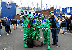 Everton fans wear fancy dress outside Goodison Park  - Mandatory by-line: Matt McNulty/JMP - 30/10/2016 - FOOTBALL - Goodison Park - Liverpool, England - Everton v West Ham United - Premier League