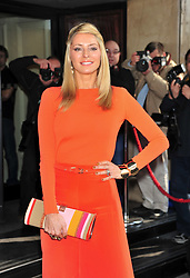 © under license to London News Pictures. 08/03/11.Tess Daly Red carpet arrivals for the 2011 TRIC (The Television & Radio Industries Club) Awards at Grosvenor House Hotel  London . Photo credit should read ALAN ROXBOROUGH/LNP