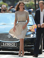 The Duke and Duchess of Cambridge attend a cultural event in Singapore, on the second day of their Diamond Jubilee Tour of South East Asia, on the 12th September 2012<br /> <br /> PICTURE BY JAMES WHATLING