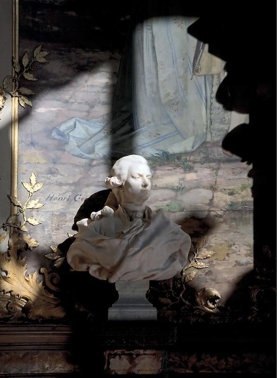 Buste d'André Grétry, compositeur d'opéras comiques, Opéra Comique, Paris, 2009.