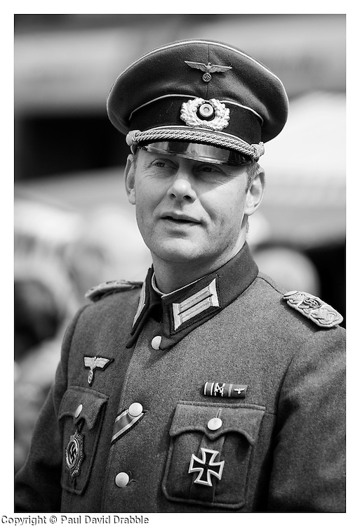 Comanding officer 1./ Kompanie Gro§deutschland  Major Ernst Sturm<br /> <br /> 15 June 2013<br /> Image © Paul David Drabble<br /> www.pauldaviddrabble.co.uk