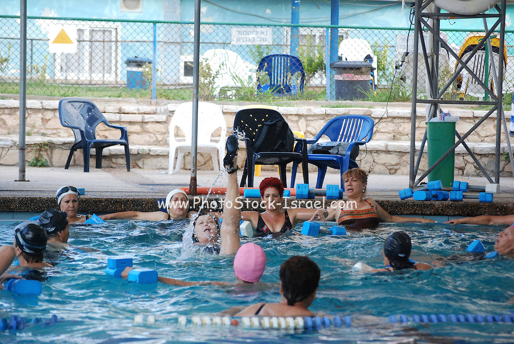 Group of adults during a water sport lesson