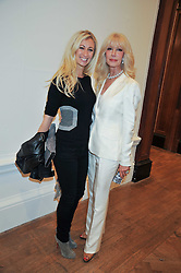 Left to right, JENNY HALPERN-PRINCE and her mother in law at the private view of Anish Kapoor's latest exhibition at the Royal Academy of Arts, Piccadilly, London on 22nd September 2009