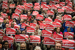 © Licensed to London News Pictures. 02/11/2019. Swindon, UK. Labour Party supporters at Commonweal Sixth Form College in Swindon at a campaign rally ahead of the general election on 12 December. Photo credit: Rob Pinney/LNP